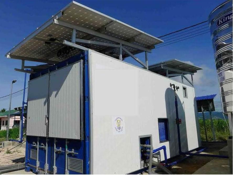 La potabilizadora H2Optima recibe el apoyo del Ministerio de Economía